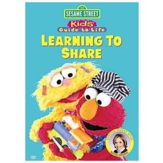 Sesame Street Learning to Share Learning About Numbers DVD, 2008