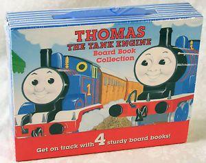 Thomas The Tank Engine Board Book Set 4 Books New
