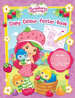 Strawberry Shortcake Copy Colour Poster Book
