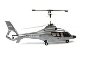 Genuine Syma S029 Agusta 3 Channel Remote Control RC Helicopter Silver