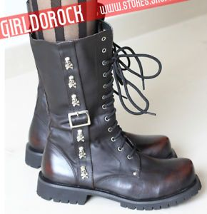Kera 3D Stub Punk Boots Creeper Shoes US 6 11 EUR 36 44