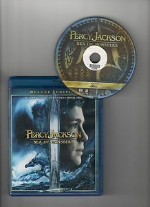 Percy Jackson Sea of Monsters 3D Blu Ray Only 2013 3D Version Only 024543867814