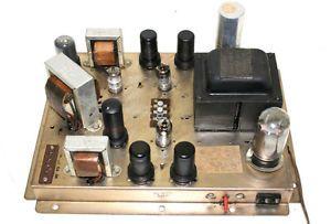 Motorola 1048B 3 Channel 6V6 RCA Tubes Stereo Tube Amplifier Amp