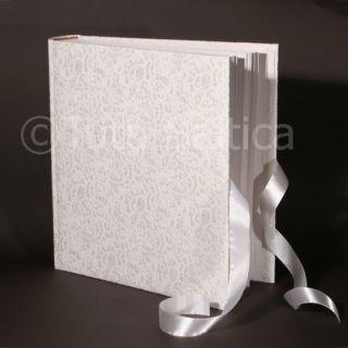 High Quality Wedding Photo Album White 600 4x6 Photos