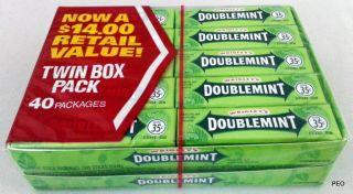 Doublemint gum twins