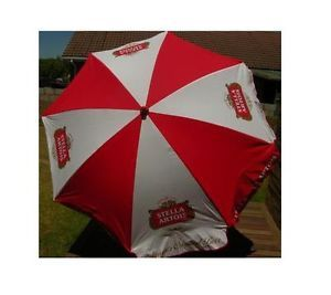 Stella Artois Belgian Beer Logo 6 ft Large Patio Beach Umbrella New