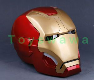 Iron Man 3 Mark 42 Magnetic Light Wearable Cosplay Helmet