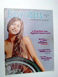 Vintage Easyrider Magazines
