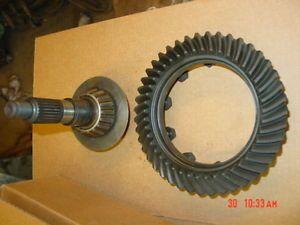 3 07 Jeep YJ XJ Gears Dana 30 Front Axle Ring Pinion 43 14 87 95 Wrangler