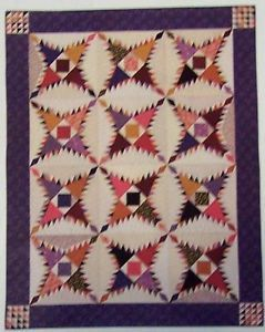 Pattern for Pine Burr Quilt Pattern