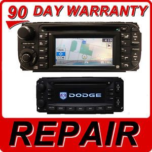 Repair Chrysler Jeep Dodge Navigation GPS Radio CD Player RB1 RB4 03 04 05 06