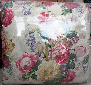 Ralph Lauren Surrey Garden Floral Full Queen Comforter New 1st Quality $355