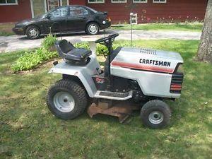 "Craftsman Riding Mower Tractor 13 5 HP 6 Speed 42"" Deck"