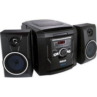 RCA RS22162 5 Disc CD Player Audio Shelf Stereo System Am FM Radio Boombox New