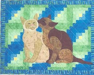Cabin Cats Quilt Pattern by Spring Creek Needleart