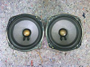 "Bose 6 5"" Speaker Pair 2 Ohm Nissan Infiniti Harness Copper Voice Coil"