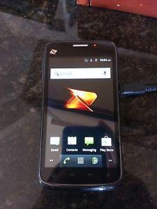 ZTE Warp 4GB Black Boost Mobile Smartphone
