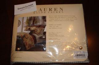 Ralph Lauren Coastal Garden Queen Flat Fitted Sheets