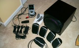 Logitech Z 5500 THX 5 1 Digital Surround Sound Speaker System