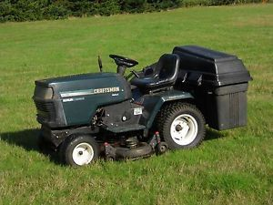 """Craftsman Riding Mower 46"""" Deck 20 5 HP Kohler Command with Bagging System"""