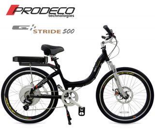 Prodeco Technologies 2012 Stride 36V 500W LiFePO4 Electric Bicycle Bike EBike