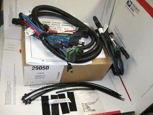 Western Fisher Snow Plow 3 Port ISO Module Light Harness HB 1 HB 5 Kit 29050