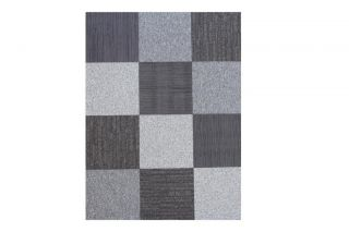 "Flor Ashes to Ashes Area Rug Tile Kit 6' 5"" x 5' 12 Tiles of 19 7"" x 19 7"""