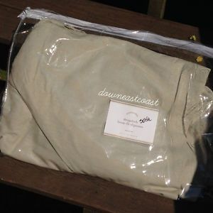 1 New Pottery Barn Dropcloth Loose Fit Sofa Slipcover Linen Loose Fit NIP
