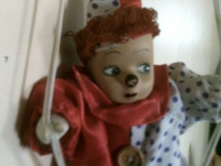 Vintage Old Haunted House Doll Harry Active Unique Creepy Antique Doll