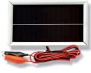 12volt Aluminum Frame Solar Panel Game Deer Feeder Camera 12V Battery Charger