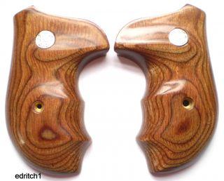 Smith Wesson s w J Frame Grips Walnut New