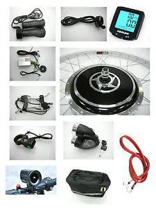 Front 36V 700W 26 Wheel Electric Bicycle Motor Kit E Bike Cycling Conversion Hub
