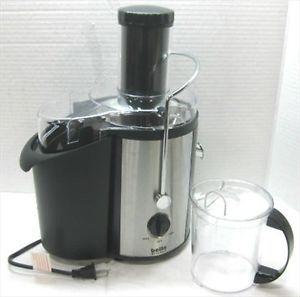 Bella Kitchen 13454 Juice Extractor with Large Round Feeding Tube 700W Black
