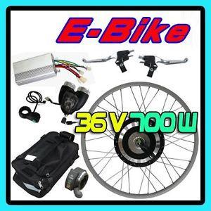 36V 700W 26 Hub Front Wheel Electric Bicycle Motor Kit Cycling Conversion E Bike