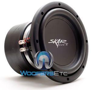 "VVX 8D2 Skar Audio 8"" Sub Dual 2 Ohm Car Loud Bass Pro Subwoofer Speaker New"