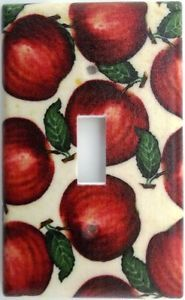 Unbreakable Apples Country Kitchen Fruit Light Switch Outlet Cover Wall Decor