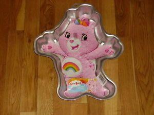 Wilton Care Bears Pink Cheer Bear Birthday Cake Decorating Pan Mold 2105 5555