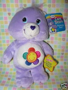 Care Bears Harmony Talking Stuffed Plush Bear Toy UWT