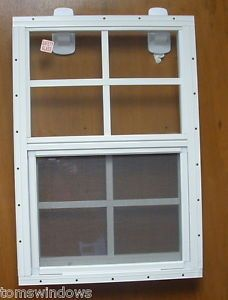 Shed transom window 10 x 23 white shed door window playhouse for 14 x 21 window