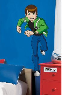 Giant Ben 10 Alien Force Wall Decals Gwen Kevin Peel Stick by RoomMates