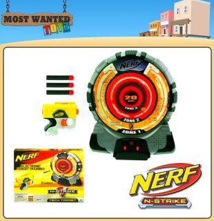 Nerf N Strike Tech Target Electronic Targeting Gun Blaster Game New Boxed