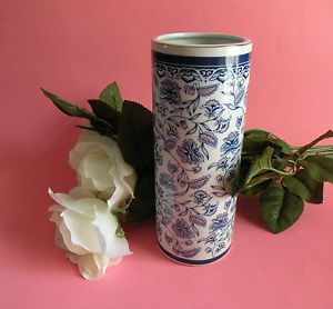 Otagiri Blue Flower Vase Artist Mary Ann Baker Vases Collectible Vases Japan