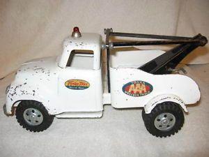 1956 Tonka Toys Wrecker AAA Tow Truck Original