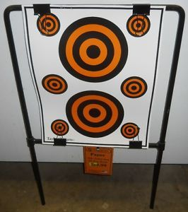 Metal Target Holder USA Made for Paper Targets Worldwide Shipping