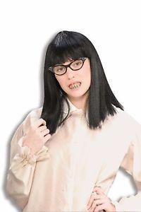 Female Nerd Kit Geek Ugly Betty Dork Costume Accessory