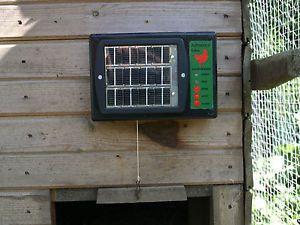 Autocoop Solar Automatic Coop Opener Door Chicken Hen House Poultry Ark Pullet