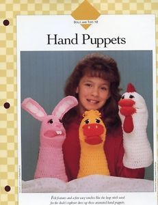 Bunny Chicken Duck Hand Puppets Vanna Crochet Pattern 30 Days to Shop Pay