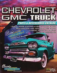 CHEVROLET GMC TRUCK 1947 2008 RESTORATION PARTS ACCESSORIES CATALOG T2013E