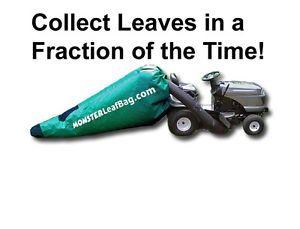Grass Catcher Leaf Bagger Fast Lawn Cleanup Replacement Bag Monster Leaf Bag