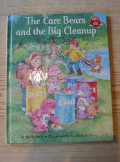 The Care Bears and The Big Cleanup Katz Bobbi Illus by Kolding Richard